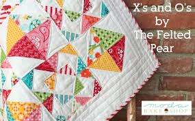 Charm Pack Â« Moda Bake Shop & Hi! My name is Susan Vaughan from The Felted Pear. I am excited to share  with you today a tutorial for my X's and O's quilt! By using one charm pack  and ... Adamdwight.com