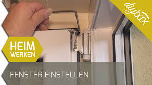 Fenster Einstellen 2d Youtube