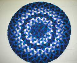 27 round braided rug