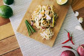 cutting board with food. Food Noodles Cutting Board Meal Lunch Cuisine With I