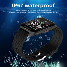 <b>MT28 Smart Watch</b> 1.54 Inch Full Touch Screen Body Temperature ...