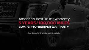 Nissan Titan Bumper-To-Bumper Warranty   Nissan USA