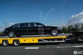 Mercedes-Maybach S600 Pullman Guard - 4 October 2017 - Autogespot