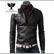 belted style collar jacket rc 04 photo leather from dhaka desh