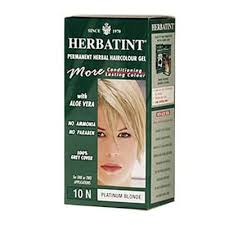 Aequo Color Chart Herbatint 10n Platinum Blonde Hair Color 1xkit Products