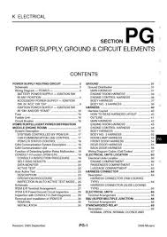 2006 nissan murano power supply, ground & circuit elements nissan tech info at 2006 Nissan Murano Wire Diagram Tail Lights