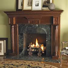 view gallery the heritage is a classic american wood fireplace mantel