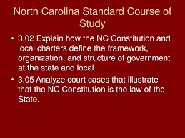 North Carolina State Government Organizational Chart Ppt The Judicial Branch Of Nc Powerpoint Presentation Id