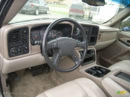 Gray/Dark Charcoal Interior 2003 Chevrolet Suburban 1500 Z71 4x4 ...