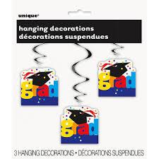 School Clinic Decorations 26 Hanging Graduation Cap Decorations 3 Count Walmartcom