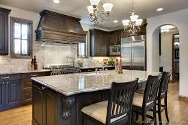 Small Picture Dark Cabinet Kitchen Designs Home Interior Design Ideas 2017
