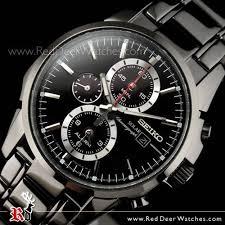 buy seiko solar chronograph alarm all black mens watch ssc095p1 seiko solar chronograph alarm all black mens watch ssc095p1 ssc095