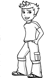 Small Picture Boy Coloring Pages Easy To Make Sheets For Boys Co Good