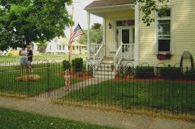 wrought iron 4 tall fencing metal fence to enclose yards