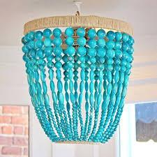 turquoise beaded chandelier gorgeous turquoise beaded chandelier turquoise beaded chandelier by marjorie skouras