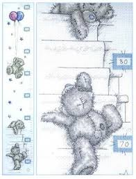 Cross Stitch Height Chart Kit Tt201 Height Chart