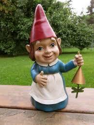 female garden gnome. Contemporary Female Lady Garden Gnome Female With N