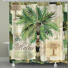 palm tree shower curtain bed bath and beyond tree shower curtain on bathroom for palm