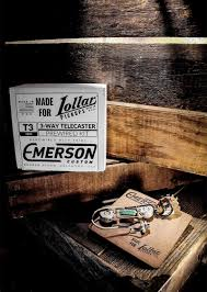 emerson 3 way prewired kit for tele