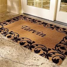 personalized front door mats33 best rug stencils images on Pinterest  Front doors Front door