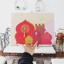 moroccan oriental tableau diy arabian art http://blog.jasmineandco.fr/