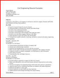 Resume It Program Manager Resumes Objective Section Of For