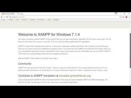 Install Xampp, Create Database, and Create index.html File - YouTube