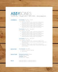 Free Modern Resume Template Downloads Free Modern Resume Templates For Word Print Email
