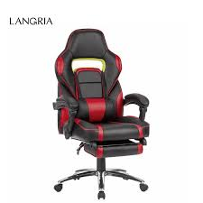 faux leather high back chairs. langria ergonomic high-back faux leather racing style reclining computer gaming executive office chair with high back chairs o
