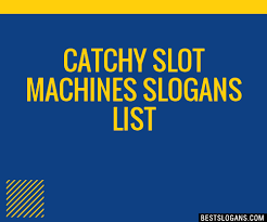 Catchy Vending Machine Slogans Delectable 48 Catchy Slot Machines Slogans List Taglines Phrases Names 48