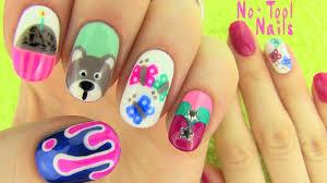 designing nails at home. top 15 beautiful nail art designs at home without tools - easy « designing nails