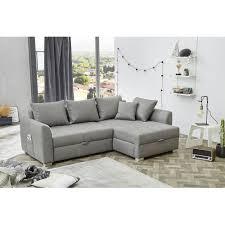 Boomer Grau Couchgarnitur Sofa Wohnlandschaft Ecksofa 31719 Inkl Aller Kissen 237 X 163 Cm