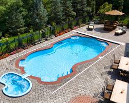 fiberglass pool with retractable cover