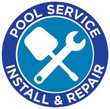 pool service logo. Pool Service Install \u0026 Repair Logo B