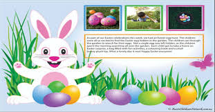 Easter Template Easter Portfolio Templates And Crafts Activities Aussie