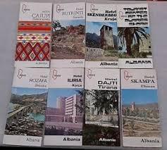 Old Brochures Old Albanian Hotel Books Brochures Leaflet Albturist Enver Hoxha