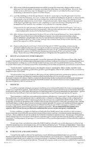 Lease Addenda Rental Agreement Addenda Ez Landlord Forms