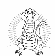 Small Picture free t rex dinosaur coloring pages wwwmindsandvinescom
