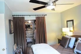 Ideas For Using Curtains As Closet