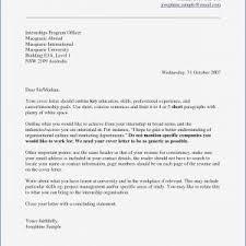 Internship Letter Sample Doc Valid Motivation Letter Template Doc