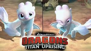 Light Fury Dragon Babies Have You Seen Baby Light Fury Httyd Dragons Titan Uprising