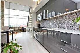 high gloss grey kitchen cabinets rapflava dark cabinet with photo gray taste and wall color combinations