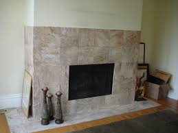 image of freestanding gas fireplace with mantel