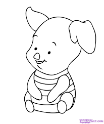 baby piglet drawings. Perfect Piglet Baby Winnie The Pooh Drawing How To Draw  Piglet And Piglet Drawings Kids Art