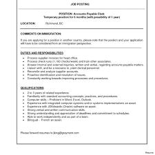 10 Accounts Payable Clerk Resume Sample Resume Samples