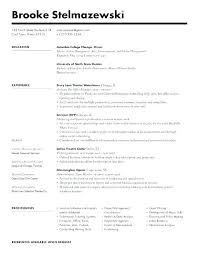 Format Resume Word Resume Template Doc Word Simple Resume Template A