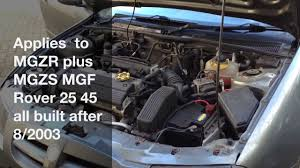 how to fix mg rover electrical problems pektron relay fault 8 2003 on you