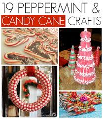 Christmas Decorations With Candy Canes 100 Peppermint and candy cane crafts CRAFT 37