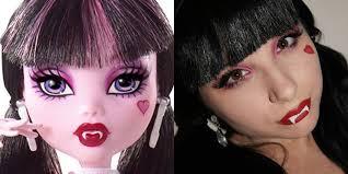 monster high draculaura makeup