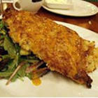 almond crusted catalan chicken